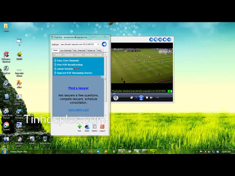 Hướng dẫn lấy link sopcast | Tinhocplus.com