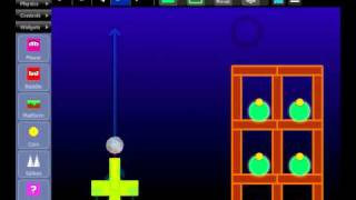 Sploder Physics - Make a Game Like Angry Birds!