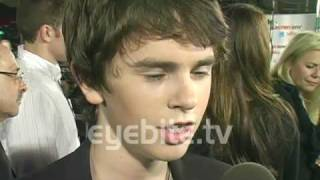 Freddie Highmore Wants To Be a Killer