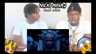 Nicki Minaj Hard White Reaction