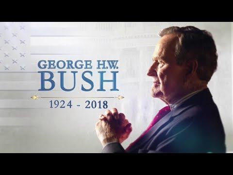 Public viewing as George H.W. Bush lies in state