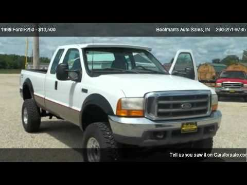 1999 Ford F250 XL - for sale in Portland , IN 47371