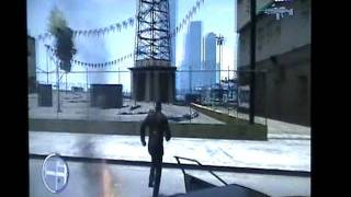 GTA IV - Final de Ballad of Gay Tony - Departure Time (Trucos activados)