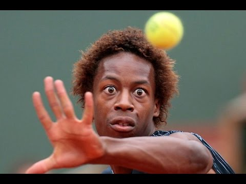 Gael Monfils EPIC Trick Shot Compilation [HD]