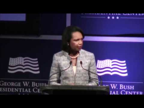 Condoleezza Rice prophet of freedom in the Middle East (part 1)