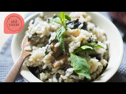 Patlıcanlı Pilav Tarifi - İdil Tatari - Yemek Tarifleri