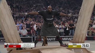 Felix does it AGAIN! Another epic WORLD RECORD from the 53 year old strongman!
