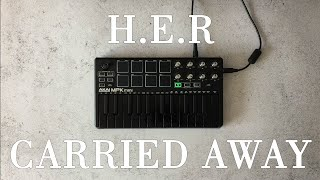 H E R Carried Away Instrumental Akai Mpk Mini Mk2 Black Ovn