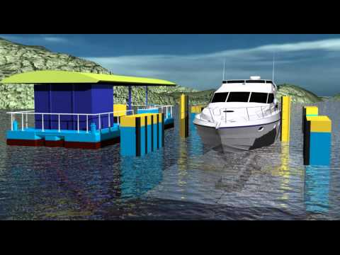 Animation of Sealift2/SD floating dry dock in operation