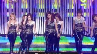 【LIVE】091210 SNSD Chocolate Love & Gee @ 24th Golden Disk Awards