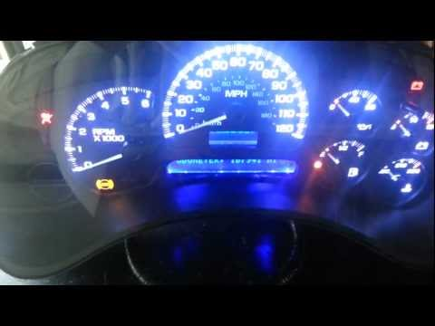 2004 Chevy Tahoe instrument cluster repair & led