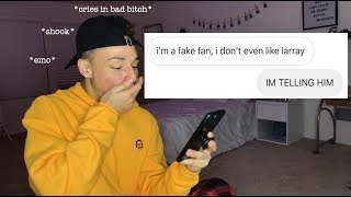 PRETENDING TO BE A FAN ACCOUNT (GONE TERRIBLY WRONG)