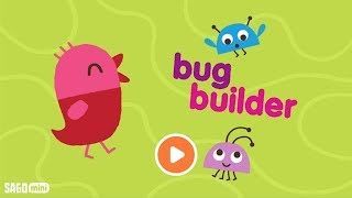 Sago Mini Bug Builder Education Creativity Gameplay for Kids Android New