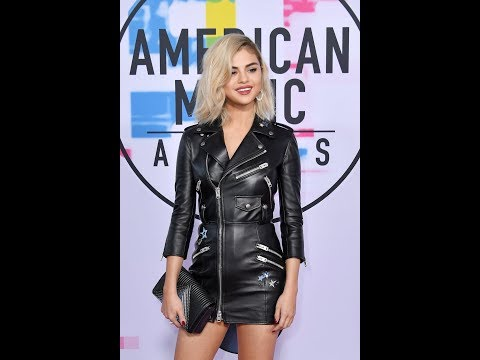 Selena Gomez On The Red Carpet At The American Music Awards 2017 thumbnail