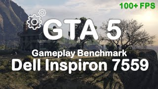 GTA 5 - Dell Inspiron 15 7559 - i7-6700HQ - GTX 960M 4GB