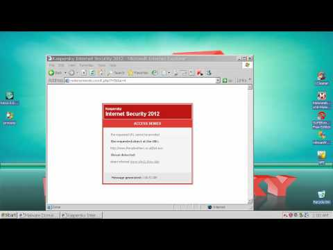 Kaspersky 2012 vs  Norton 2012 Beta   PROACTIVE TEST