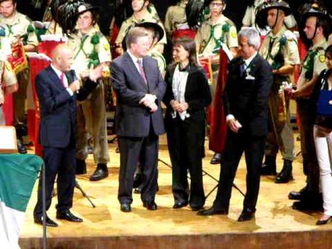 Riconoscimento a Pieto Pierrettori presidente della Pro Loco Magenta