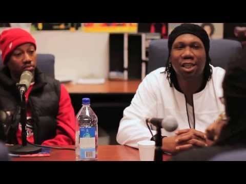 KRS-ONE & Planet Asia 90.7 Interview at Fresno State Part 4
