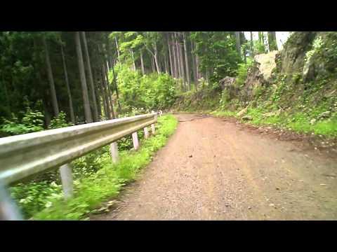2011.06.16 YAMAHA メイトで林道走行 @ 林道御岳山線 Music Videos