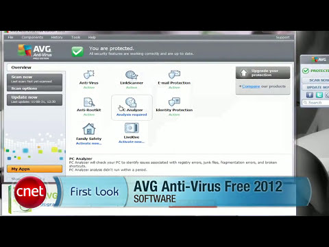 AVG Anti Virus Free  Edition 2012 REVIEW  BY CNET