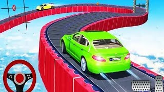 Crazy Car Driving Ramp Car Stunts Game #Android GamePlay #Car Games To Play #Games Download