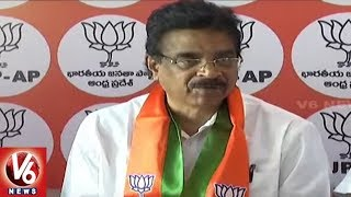 AP BJP MP Hari Babu Resigns For Party State President Post