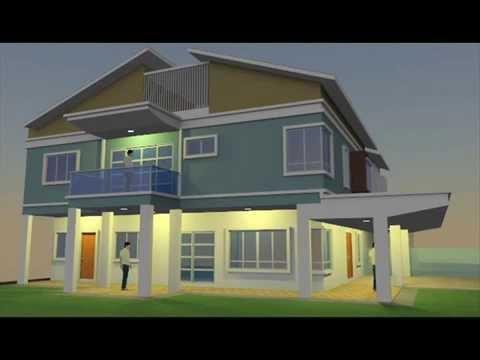 Rekabentuk Ubahsuai Rumah Teres Lot Tepi di Seksyen U13 Shah Alam