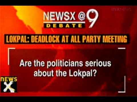 NewsX@9: Anna threatens a bigger Lokpal movement - NewsX