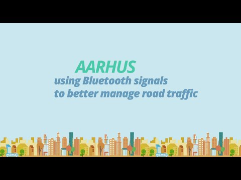 Optimising Aarhus's transport system with Bluetooth (Denmark)