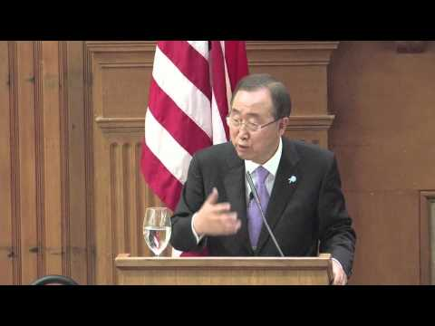 The United Nations at 70: A conversation with Secretary-General Ban Ki-moon