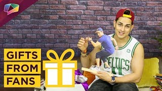 Priyank Sharma Unwraps Gifts From His Fans | India Forums