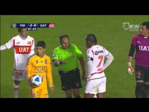 Tigres 4-0 Correcaminos - Jornada 3 Copa MX Clausura 2014
