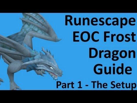 Runescape EOC Frost Dragon Melee Guide part 1 setup !