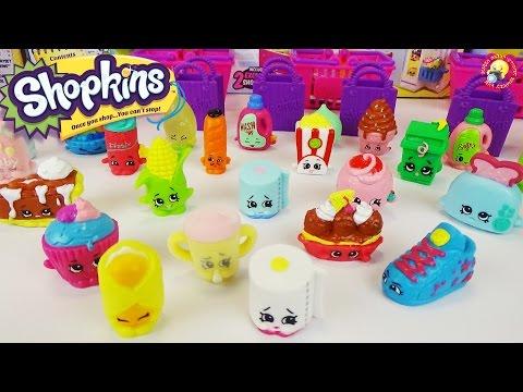 Шопкинсы 2 сезон. Открываем два игровых набора с сюрпризами / Shopkins  Season 2 Moose Toy