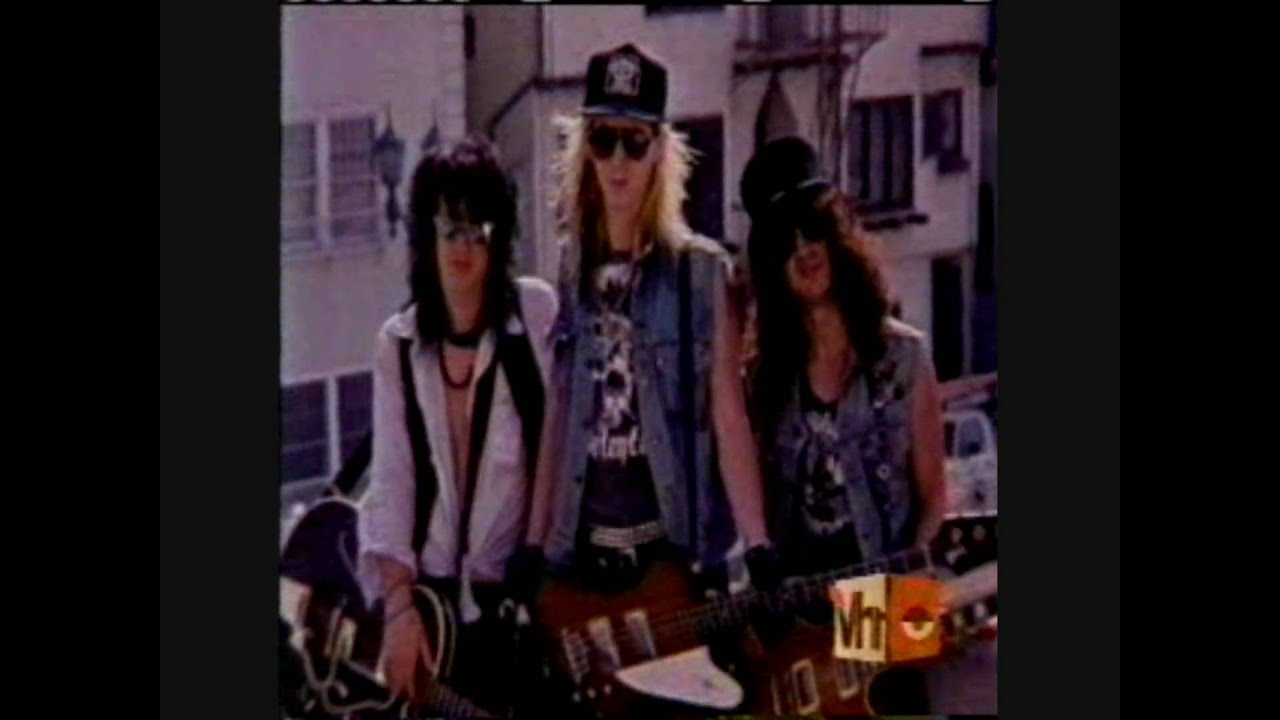 Guns N' Roses - VH1 Behind the Music (part 1) - YouTube