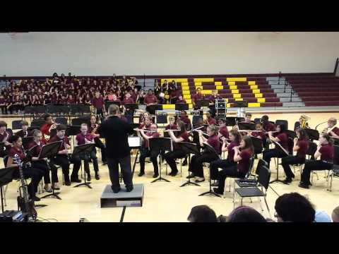 Milford Central Academy - You Raise Me Up