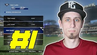 MLB The Show 18 Road To The Show - The Creation - EP 1