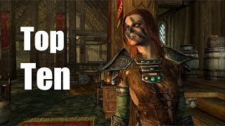 Top Ten Wives of Skyrim