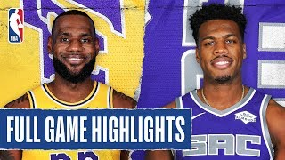LAKERS at KINGS | FULL GAME HIGHLIGHTS | February 1, 2020