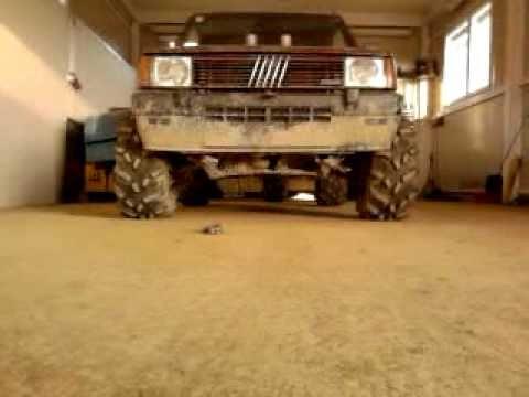Fiat panda 4x4 1 9 d offroad 1 youtube for Panda 4x4 sisley off road