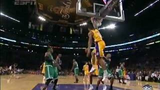 L.A Lakers - Top 10 Playoff Moments (New 2010)