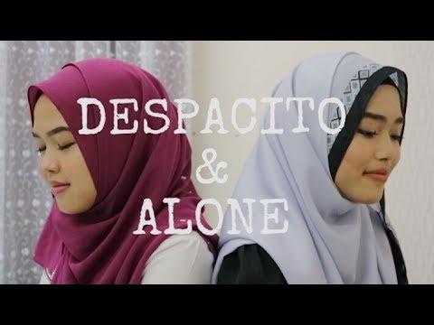 Despacito & Alone - Luis Fonsi, Daddy Yankee ft. Justin Bieber & Alan Walker (Sheryl & Eizaty cover)