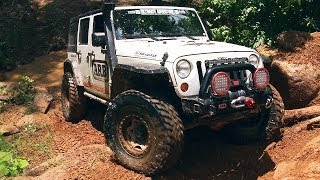 Part 2: Driving Remote Roads to River Rock Off-Road Park in Georgia! - 2013 Ultimate Adventure Week