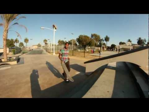 10 TRICKS AT HARVARD SKATE PLAZA!!!-HD