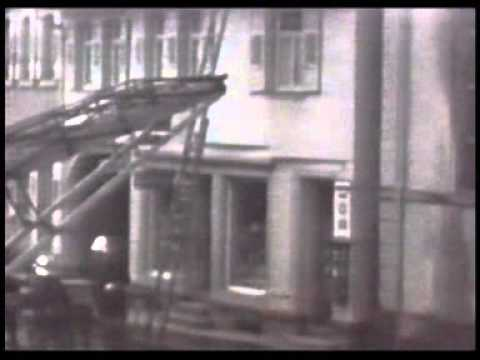 Archival footage depicting the events of Kristallnacht in Buehl