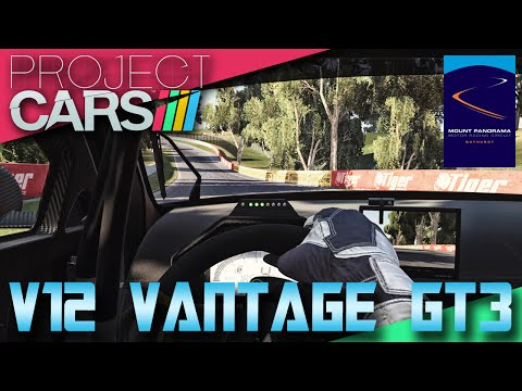 Project CARS - Aston Martin V12 Vantage GT3 - Mount Panorama Circuit - Bathurst ONBOARD LAP