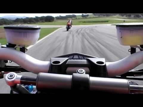 2009 Ducati Streetfighter S onboard from Ascari, first in HD! Teaser... Video