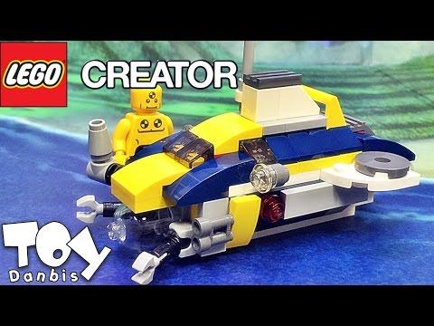 레고 크리에이터 미니 대형 잠수함 31045 3in1 조립 리뷰 Lego Creator mini Large submarine
