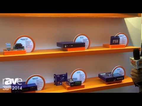 ISE 2014: InOut Communication Systems Shows Its Line of Amplifiers and Audio Players