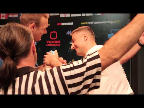 World Armwrestling Championship 2014, day 4, eliminations